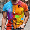 Summer Casual Short Sleeve T-Shirts For Mens  20