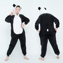 Пижамы с пандой, детские пижамы с единорогом для маленьких девочек, одежда для сна для мальчиков, детские комбинезоны с изображением тигра, ...