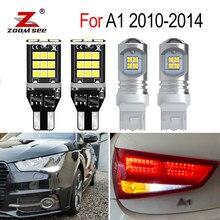 Nenhum erro branco led reverso cauda exterior lâmpada + drl luz de circulação diurna para audi a1 2010 2011 2012 2013 2014 condução da lâmpada