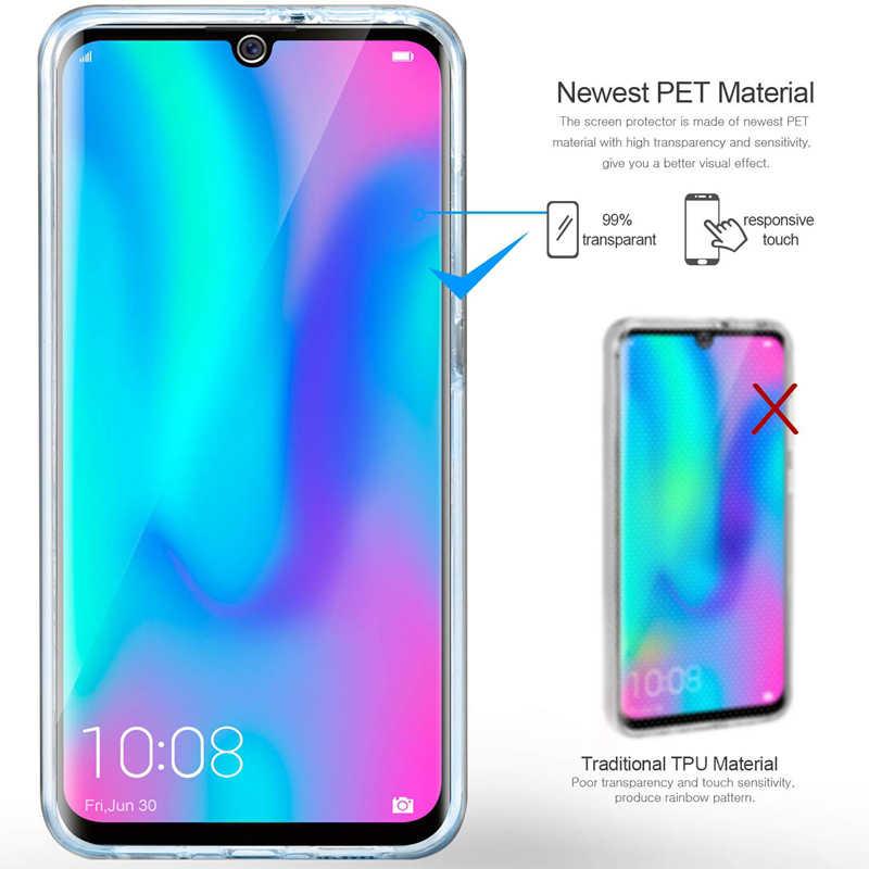 360 גוף מלא מקרה עבור Huawei Y5P Y7P Y6P Y8P Y6S P40 Lite E Y9S ברור סיליקון כיסוי כבוד 9S 9C 9X 20 פרו 8A 10 לייט נובה 5T