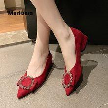 Senhoras clássico de alta qualidade festa preto deslizamento em saltos altos mulheres legal outono rebanho escritório sapatos salto alto sapatos azul g9001