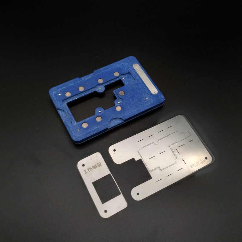 WYLIE Инструменты для ремонта IPX материнская плата среднего уровня оловянный набор растений Магнитная фиксированная пластина позиционирования платформа + паяльная паста
