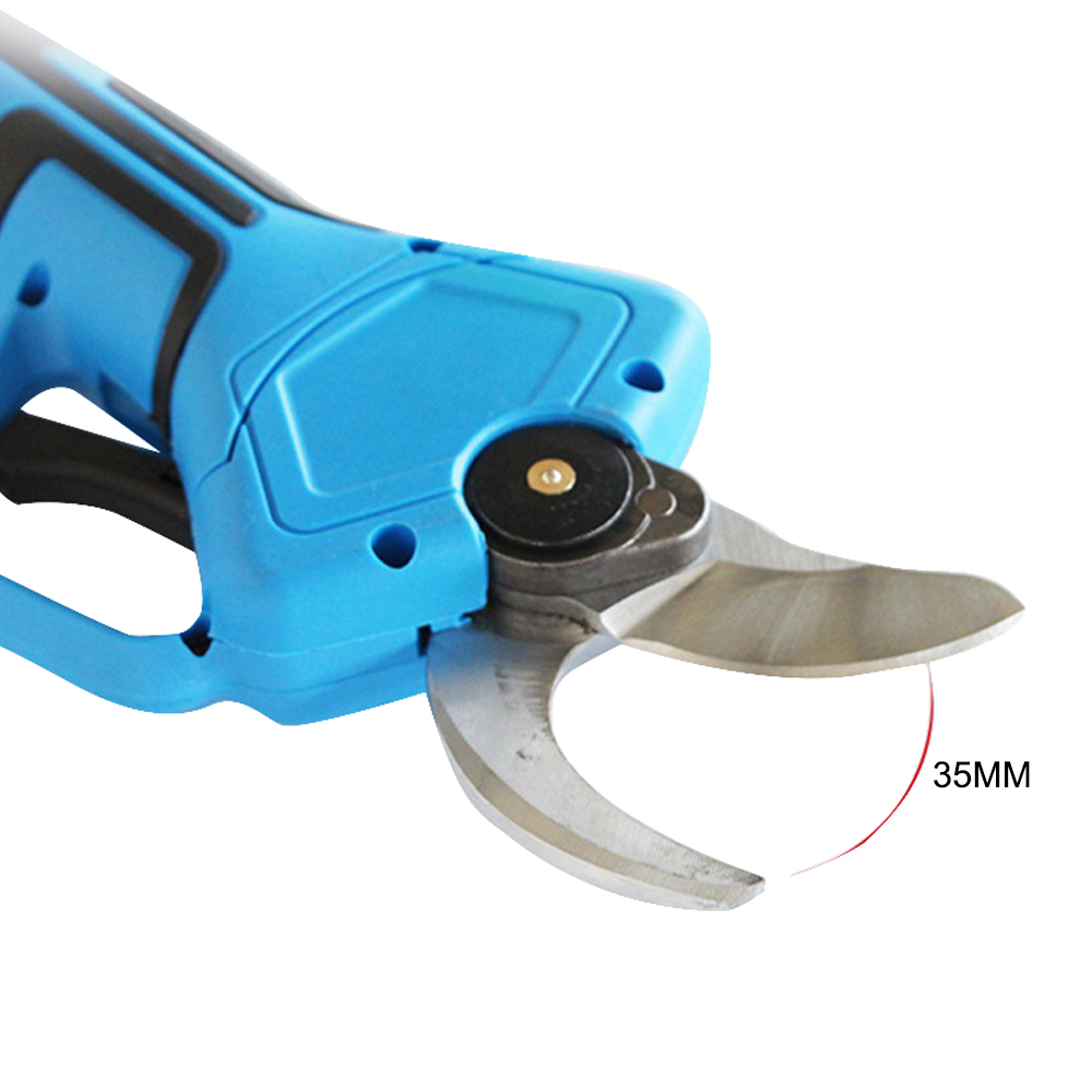 Electric Pruning Shears 21V Wireless Pruning Machine 2AH Rechargeable Lithium Battery Electric Garden Pruning Machine Tool