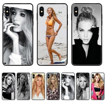 Gossip Girl Blake Lively Present For Huawei Honor Play V10 View Mate 10 20 20X 30 Lite Pro Y3 Y5 Y9 Nova 3 3i Pro Black Soft image