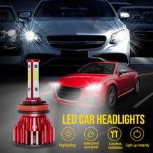 9003 H7 H9 Led CAR Motorcycle Headlight Bulbs 5000LM 50W hi/lo light White Driving Lights Motorbike H4 LED Moto Bike Head Lamp цена 2017