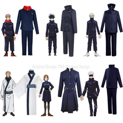 Anime Costumes Jujutsu Kaisen Itadori Yuji Cosplay Costume Kugisaki Nobara Wigs Fushiguro Megumi Uniform,Customized Accepted