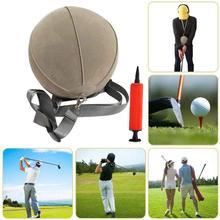 Гольф-качели, тренировочный мяч с умным надувным подспорьем, коррекция осанки, тренировка для гольфистов, умный ударный мяч