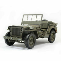 Welly 1:18 Jeep 1941 Willys MB Open top Racing Car Diecast Model NEW IN BOX