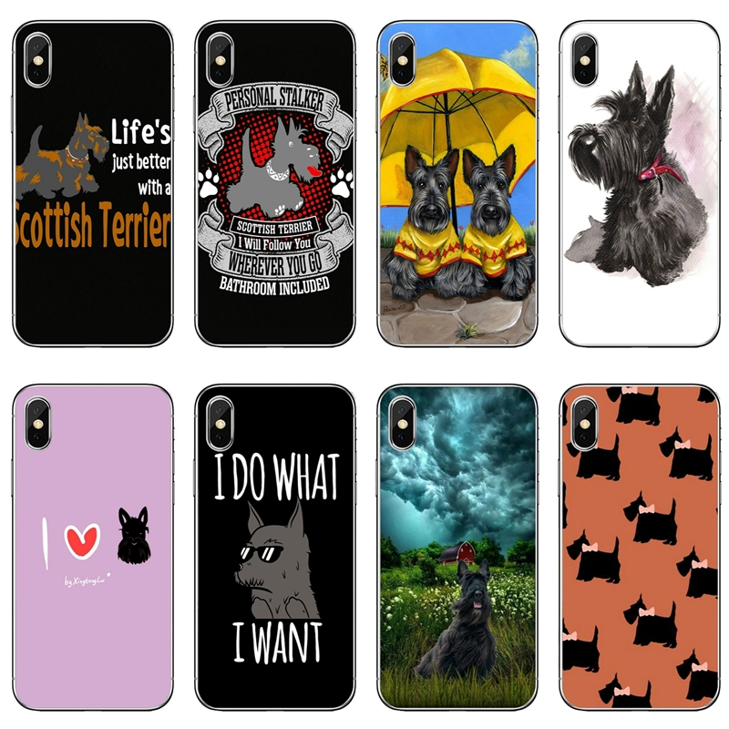 Scottish Terrier Pro-Case Huawei P30 Xiaomi Samsung Galaxy Dog A60 Redmi for A10 A30/A40/A50/..
