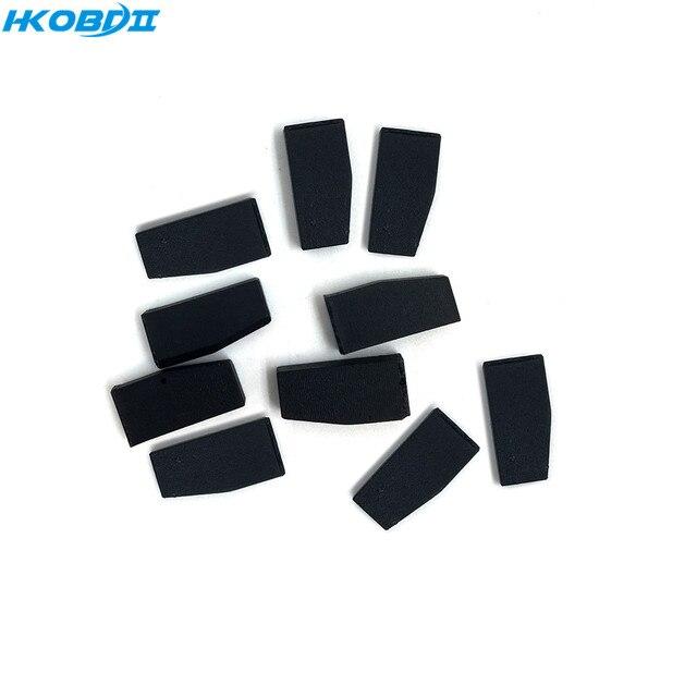 HKOBDII 10 adet 4D 4C 46 G ID48 çip KD X2 KD çip boş kopya araba anahtarı çip KD x2 uzaktan Tango/H618Pro programcı çip
