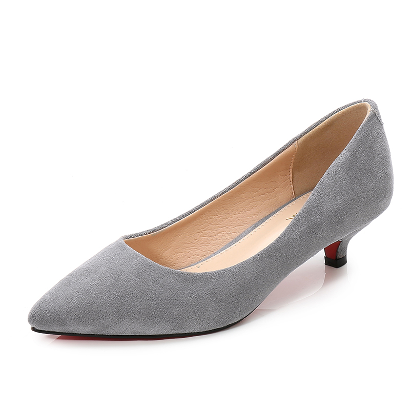 New Fashion Med Heel Shoes Ladies Large