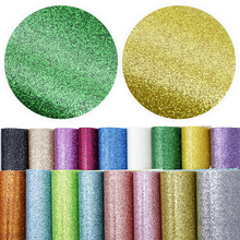 Faux-Leather Fabric-Sheet for DIY Handmade Earring-Bows Home-Textile/1yc9930 Smooth Fine-Glitter