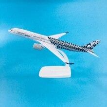цена на JASON TUTU Plane Model Airplane Model Aircraft Model Diecast Metal 1:300 Emirates 20cm Airplanes Turkey Boeing 777 Airbus A350