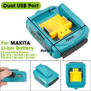 Dual USB Port Adapte...