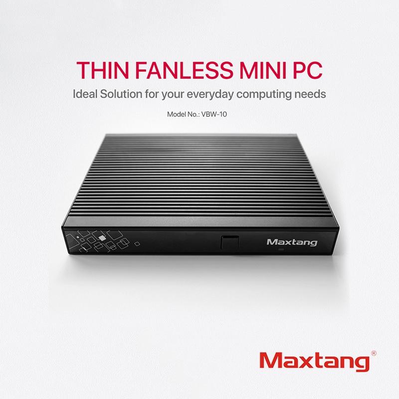 Maxtang Intel Core I3 5005U Mini PC Linux Desktop Computer 8GB DDR3L 256GB 512GB 1TB SSD WiFi 2×HDMI USB3.0