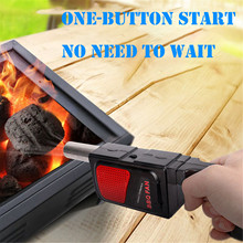 Electric-Shaker-Fan Booster Grill Barbecue-Air-Blower Cooking Bbq Outdoor Portable Camping