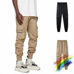 Лучшая версия представляет 20SS брюки карго для женщин мужчин Jogger 1:1 мужские повседневные спортивные брюки представляют джоггеры Rhude