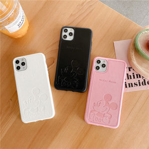 Image 4 - 2021 Disney for iphone 7/8 plus x xsmax xr se2020 iphone11pro Max cute girl couple creative phone case