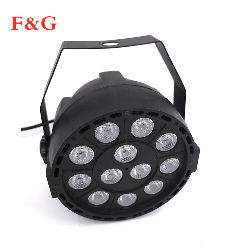 LED Par 12x3W RGBW LED Stage Licht Par Licht Met DMX512 Voor Disco DJ Projector Machine Party Decoratie F&G Podium Verlichtin