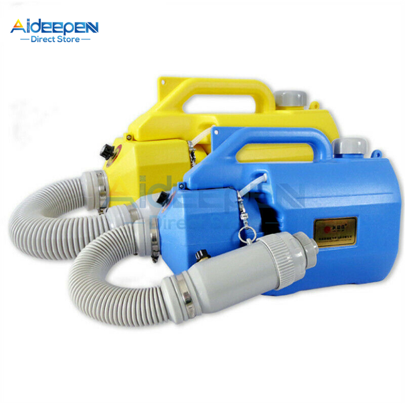 Portable 5L Sprayer Mosquito Killer Disinfection Machine Insecticide Atomizer Fight Drugs Electric ULV Fogger Ultra Capacity