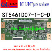 LED TV original ST5461D07-1-C-D Huaxing logic board 55 inch 4K board soft breasted TCON led tv brand new original ld320eun slm1 8f1 logic board 6870c 0790a spot tcon