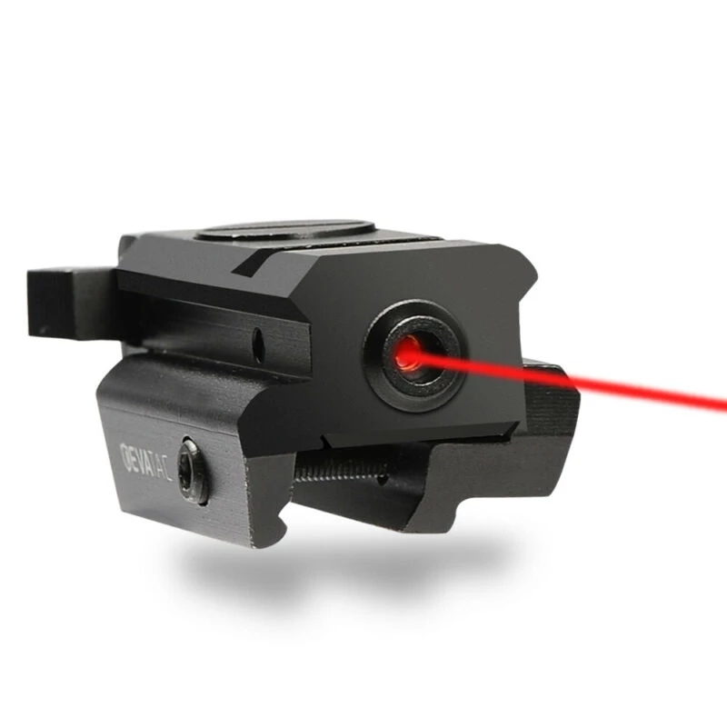 Mini Red Dot Laser Sight Low Profile With Remote Switch Suit 21mm Picatinny Rail for Tactical Hunting
