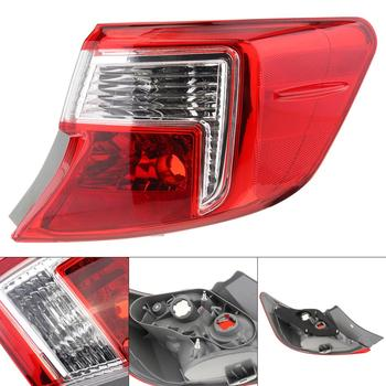 Waterproof Car Auto Tail Light Bulb Right Side RH Car Lamp 81551-06490-B Red Len for Toyota Camry ACV51 Toyota Camry 2011-2014