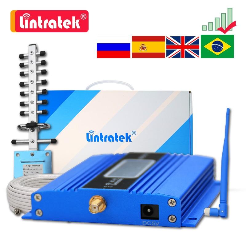 Cellular Verstärker GSM 2G 900 3G UMTS 2100 4G LTE 1800MHZ DCS Signal Booster Mobile telefon + Antenne + 10m Kabel Repeater