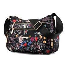 Quente floral estilo rural oxford senhoras sacos de mão do sexo feminino crossbody sacos para as mulheres ombro mensageiro sacos rosca sac a principal femme