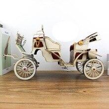 ¡Genial! Decoración de motocicleta de hierro adornos Vintage holandesa maqueta de carroza pública 1: 12 decoraciones de escritorios de oficina