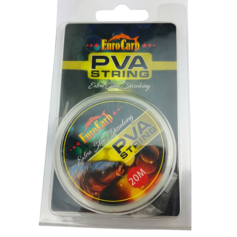 High Quality PVA Intensity Fishing String 20m Reel Outdoor Braided Line Soluble Sink Carp Supplies