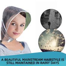 Креативная Пластиковая Шляпа от дождя, плащ, плащ для женщин, мужчин, детей, подарки, универсальное использование, для пеших прогулок, рыбалки, дождей, водонепроницаемые ветрозащитные шляпы