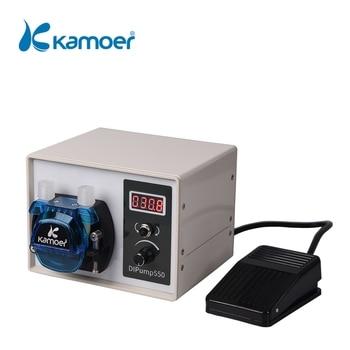 Kamoer wysoki przepływ 24V DC DIP inteligentna moc Off pamięć pompa perystaltyczna z rura silikonowa do dozownik cieczy przemysł spożywczy