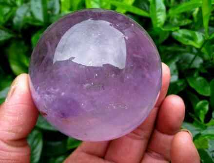الكوارتز الطبيعي كرة كريستال الكرة أحجار استشفاء 40 مللي متر + حامل