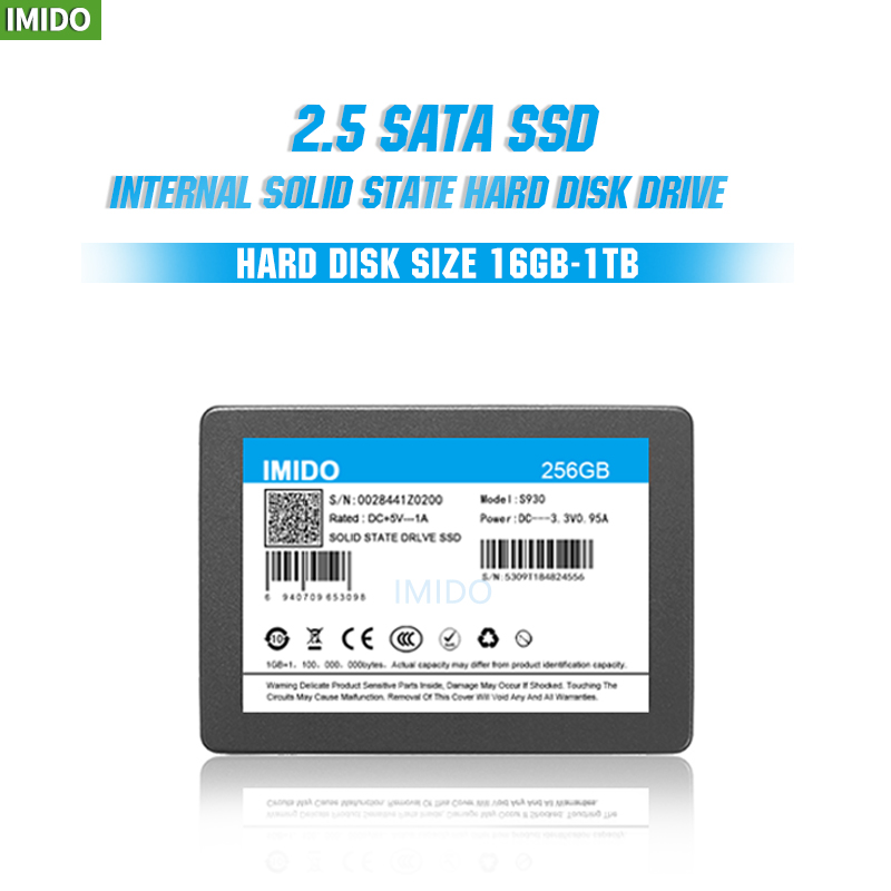 IMIDO <font><b>SSD</b></font> 32GB 64GB 128GB 256GB 512GB 1TB <font><b>2TB</b></font> <font><b>SSD</b></font> <font><b>2.5</b></font> Hard Drive Disk Disc Solid State Disks <font><b>2.5</b></font>