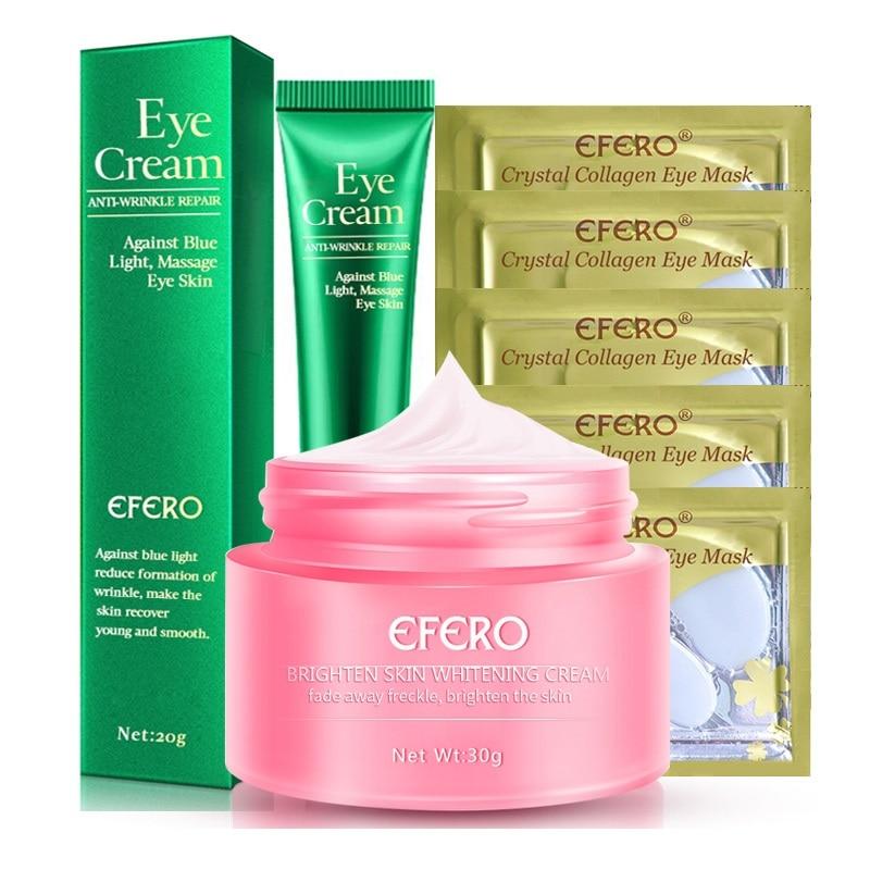 Freckle Face Cream Skin Whitening Dark Spots Repair Freckle Cream Collagen Eye Mask Against Blue Light Anti Wrinkle Eye Creams