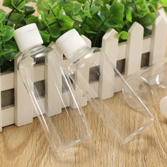 4 sztuk/zestaw przenośne puste butelki plastikowy pojemnik do przevhowywania butelki do podróży zastępcza butelka szampon balsam kosmetyczny pojemnik balsam w butelce