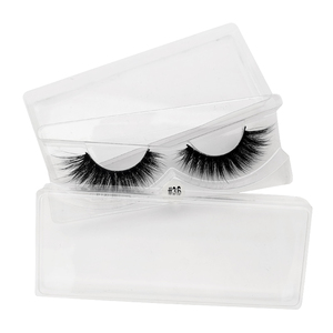 Image 2 - ขายส่งราคาขนตาปลอม 3D Mink Lashes ที่กำหนดเองกล่อง NATURAL Mink Eyelashes fluffy ขนตาปลอมแต่งหน้าขนตาปลอมจำนวนมาก