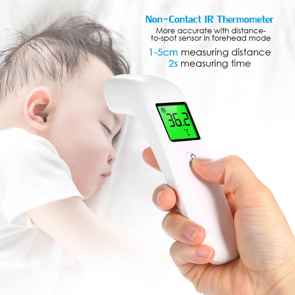 HOT ! ! Baby Forehead Thermometer Digital LED Body Temperature Meter Non-contact Infrared Thermometer Gun Children Adult Fever