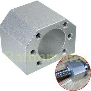 Image 4 - 3 zestawy prowadnica liniowa SBR16 L 300/700/1100mm i SFU/RM1605 350/750/1150mm śruba pociągowa z nakrętką i BK/B12 i łącznikiem do routera CNC