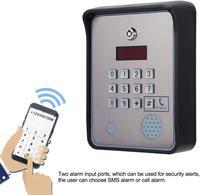 LPSECURITY GSM interkom kapı kapısı erişim kontrolü/GSM interkom acil kapısı açacağı erişim denetleyici servisi yardım çağırma