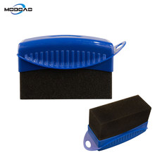 1 pçs polimento enceramento esponja escova roda do pneu cera polimento esponja ferramenta de limpeza