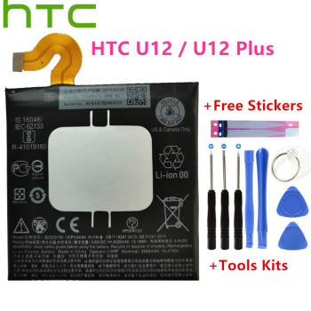 HTC Original 3500mAh Mobile Phone Battery High Capacity B2Q55100 For U12 / Plus 3420mAh + Tools kit