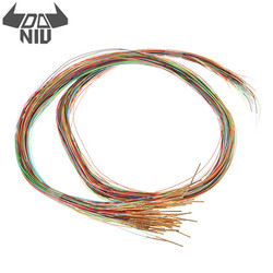 DANIU 200Pcs R50-2W7 3A Length 17.5mm Spring Test Probe Receptacle Pre-wired Tool