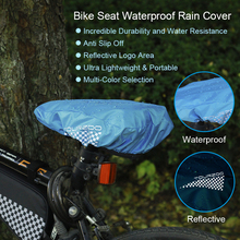 Tourzoo Bike Seat Waterproof Rain Cover And Dust Resistant Bicycle Saddle Cover outdoor Bycicle Seat Protecter Bike Accessories