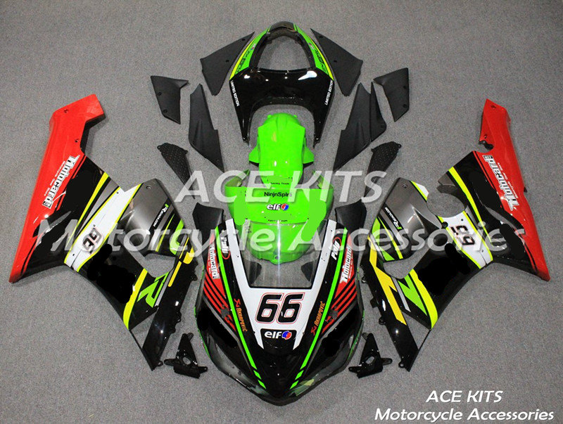 New ABS Motorcycle Fairing Fit For Kawasaki Ninja ZX6R 599 636 2005 2006 Bodywork Injection Mold ACEKITS Store No.0177