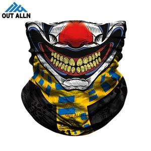 Mascarilla facial de moto para hombre y mujer, Bandana 3D sin costuras, Buffs de tubo de cuello, polaina de cuello Punisher para exteriores, diadema de Thanos Venom, máscara de esquí