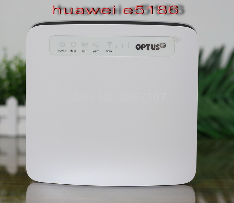 Huawei E5186 Cat6 300Mbps  LTE 4g Wireless Router 4g FDD TDD Cpe Wireless Router E5186s-61a LTE Band 3/7/28/4