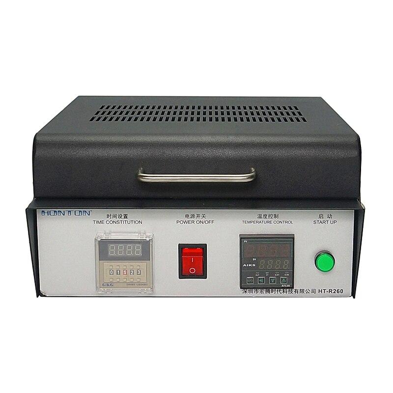 HT-R260 горячая пластина BGA reballing reflow духовка Honton Ремонтная система сварочный аппарат 600W
