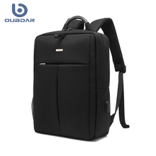 OUBDAR Men Multifunction Anti Theft Backpack 14.0″ Inch Laptop Usb Charging Backpacks Waterproof Schoolbag Business Travel Bags